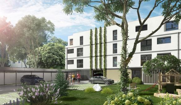 3D Visualisierung exterior Fichtenhof am Petersbach