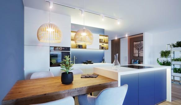3D Visualisierung TOP 5 Küche